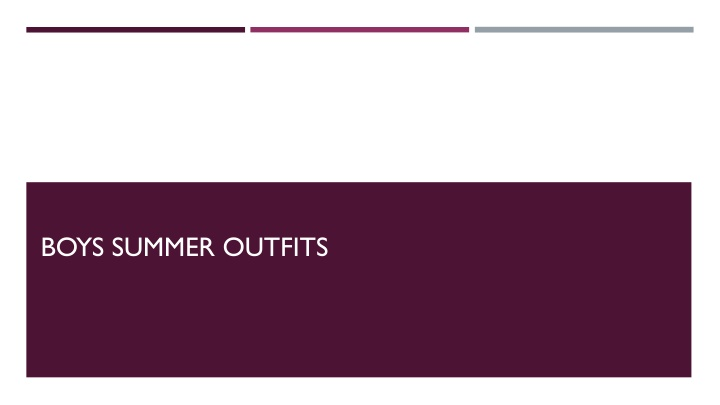 boys summer outfits n.