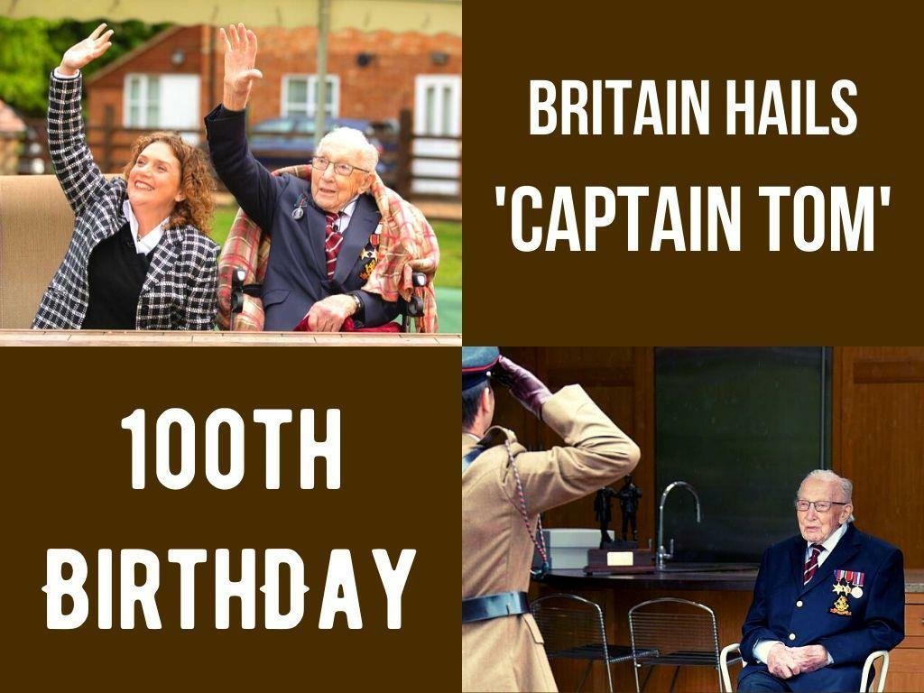 britain hails captain tom on 100th birthday l.