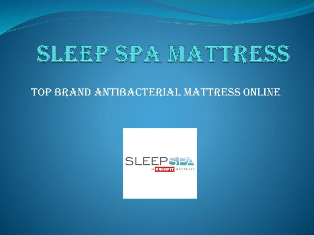 sleep spa mattress l.
