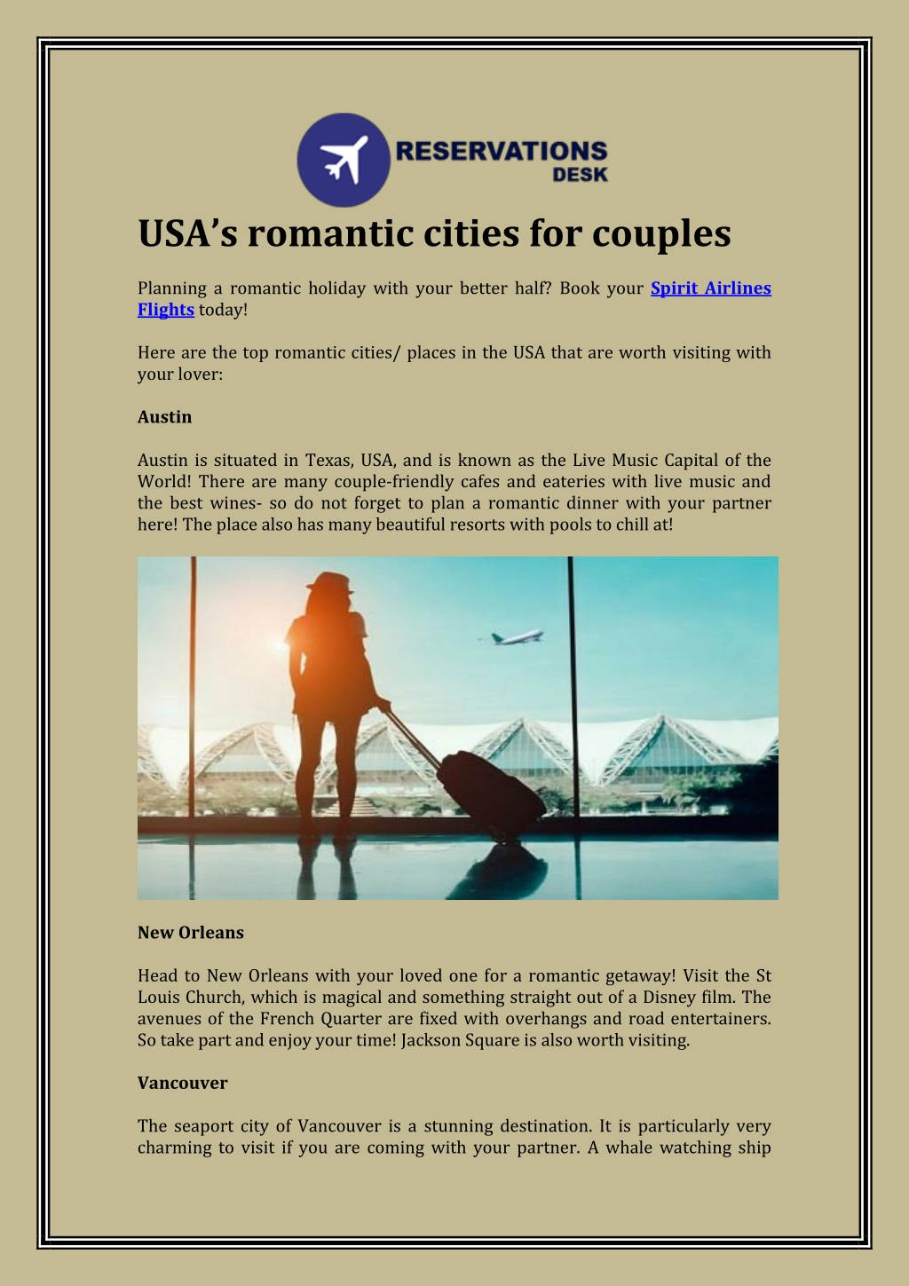 usa s romantic cities for couples planning l.