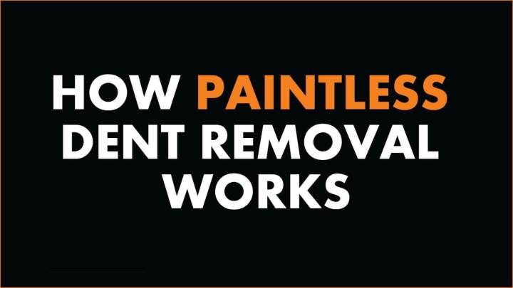 how paintless dent removal works n.