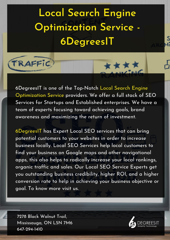 local search engine optimization service l.