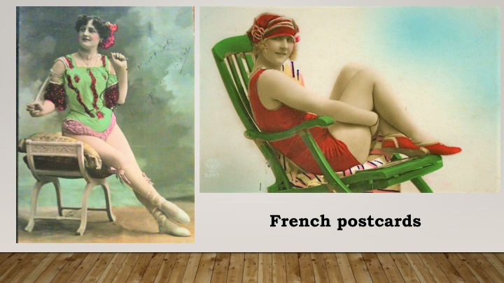french postcards n.