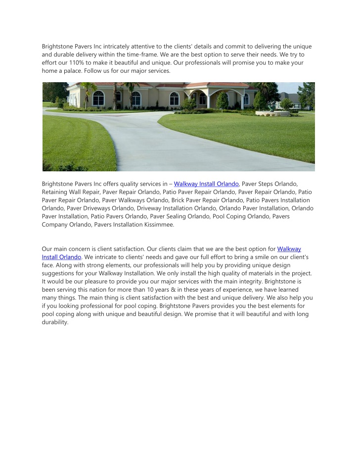 brightstone pavers inc intricately attentive n.