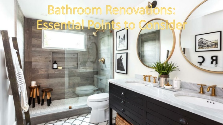 bathroom renovations essential points to consider n.