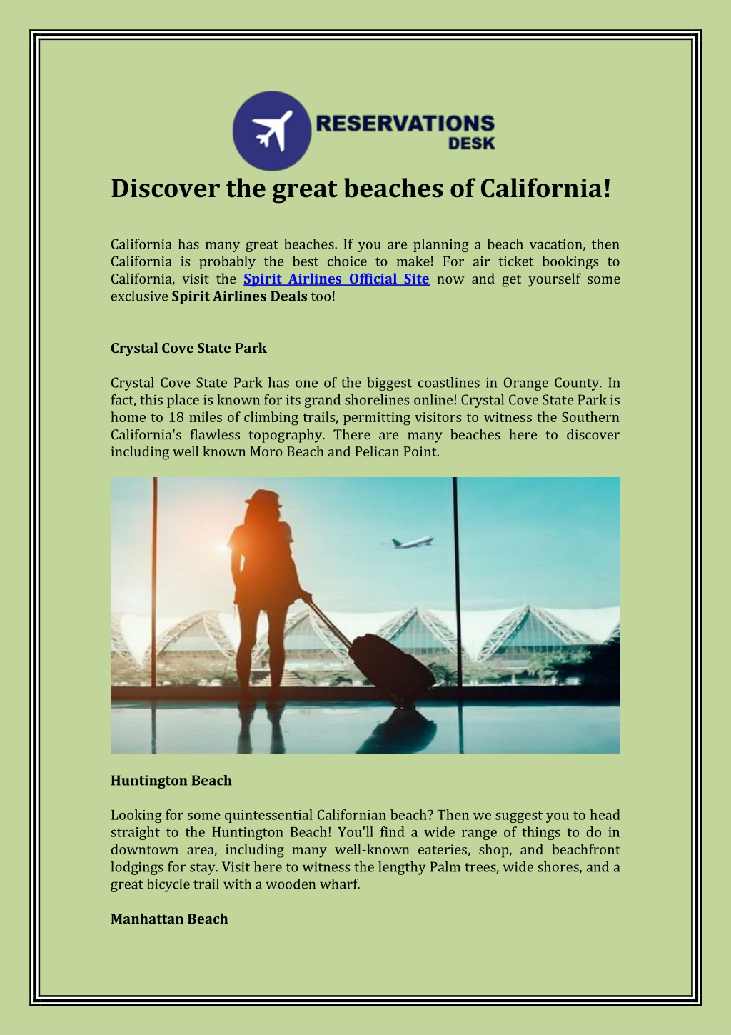 discover the great beaches of california l.