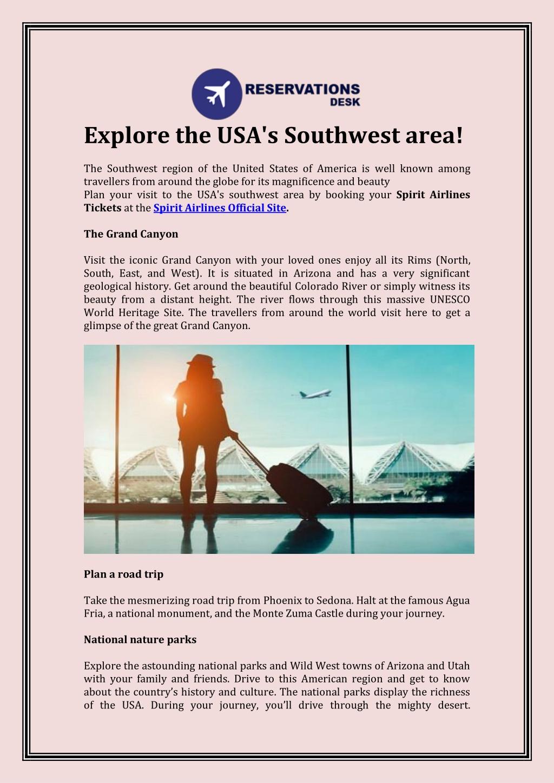 explore the usa s southwest area the southwest l.