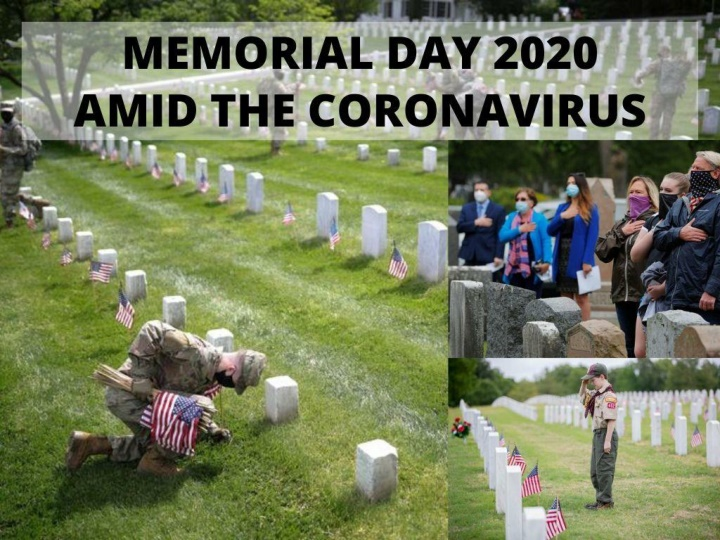 memorial day amid the coronavirus n.