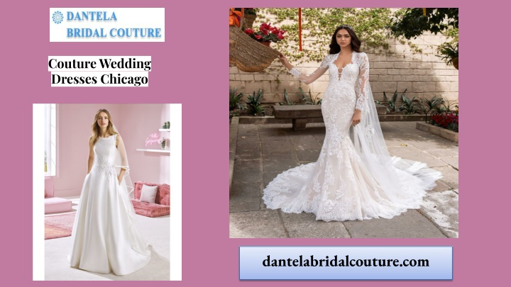 couture wedding dresses chicago n.