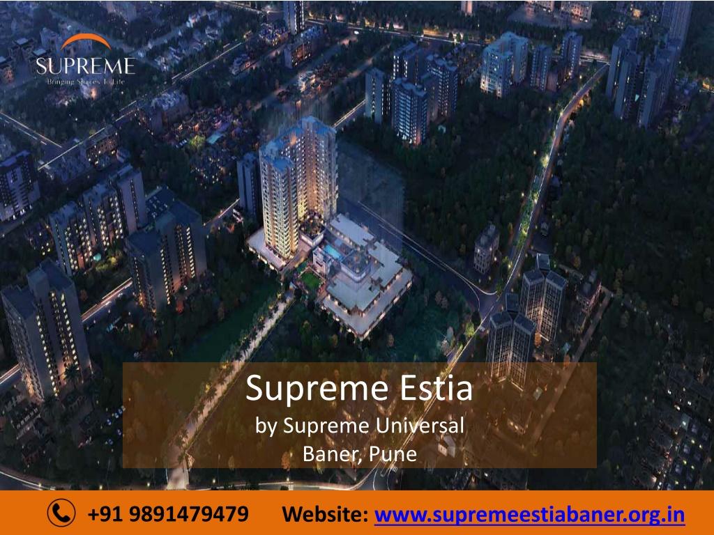 supreme estia by supreme universal baner pune l.