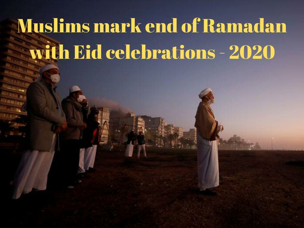 muslims mark end of ramadan with eid celebrations l.