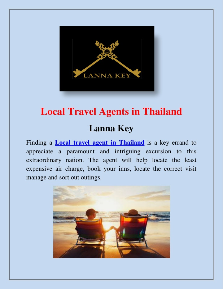 local travel agents in thailand n.
