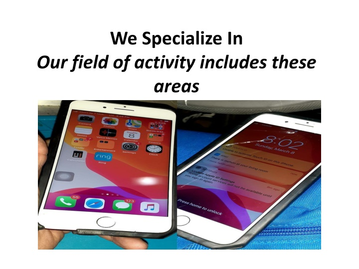 we specialize in our field of activity includes these areas n.