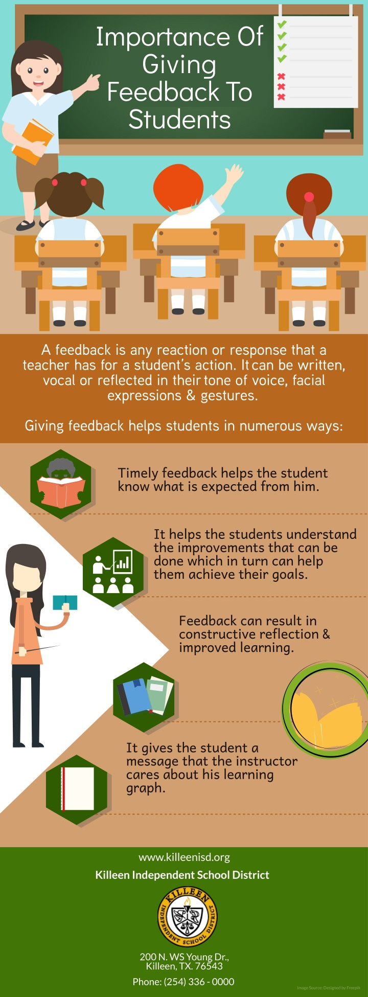 importance of giving feedback to students n.