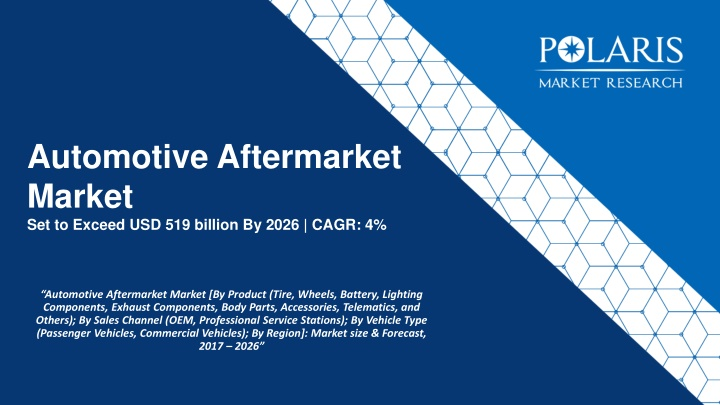 automotive aftermarket market set to exceed usd 519 billion by 2026 cagr 4 n.
