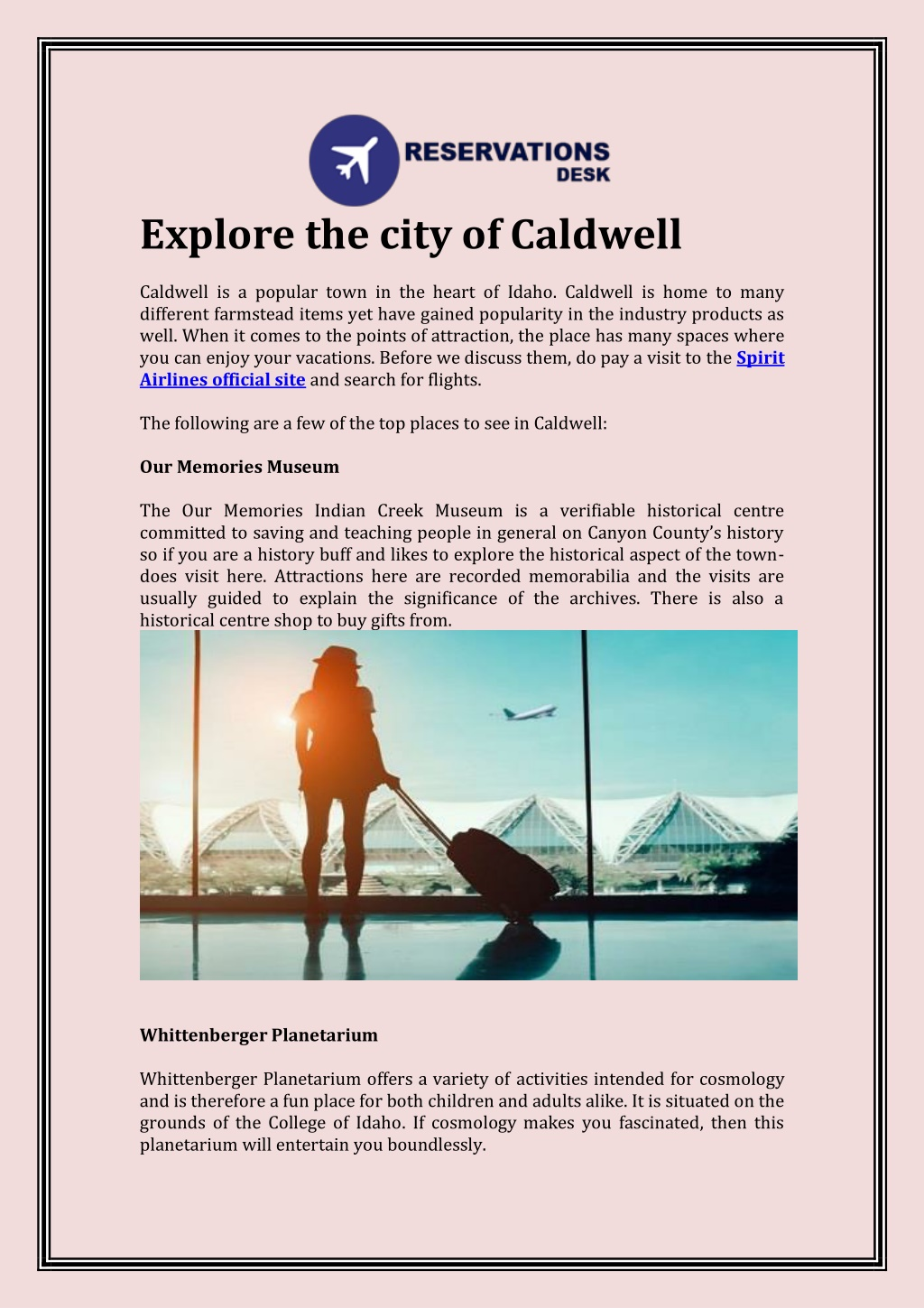 explore the city of caldwell caldwell l.