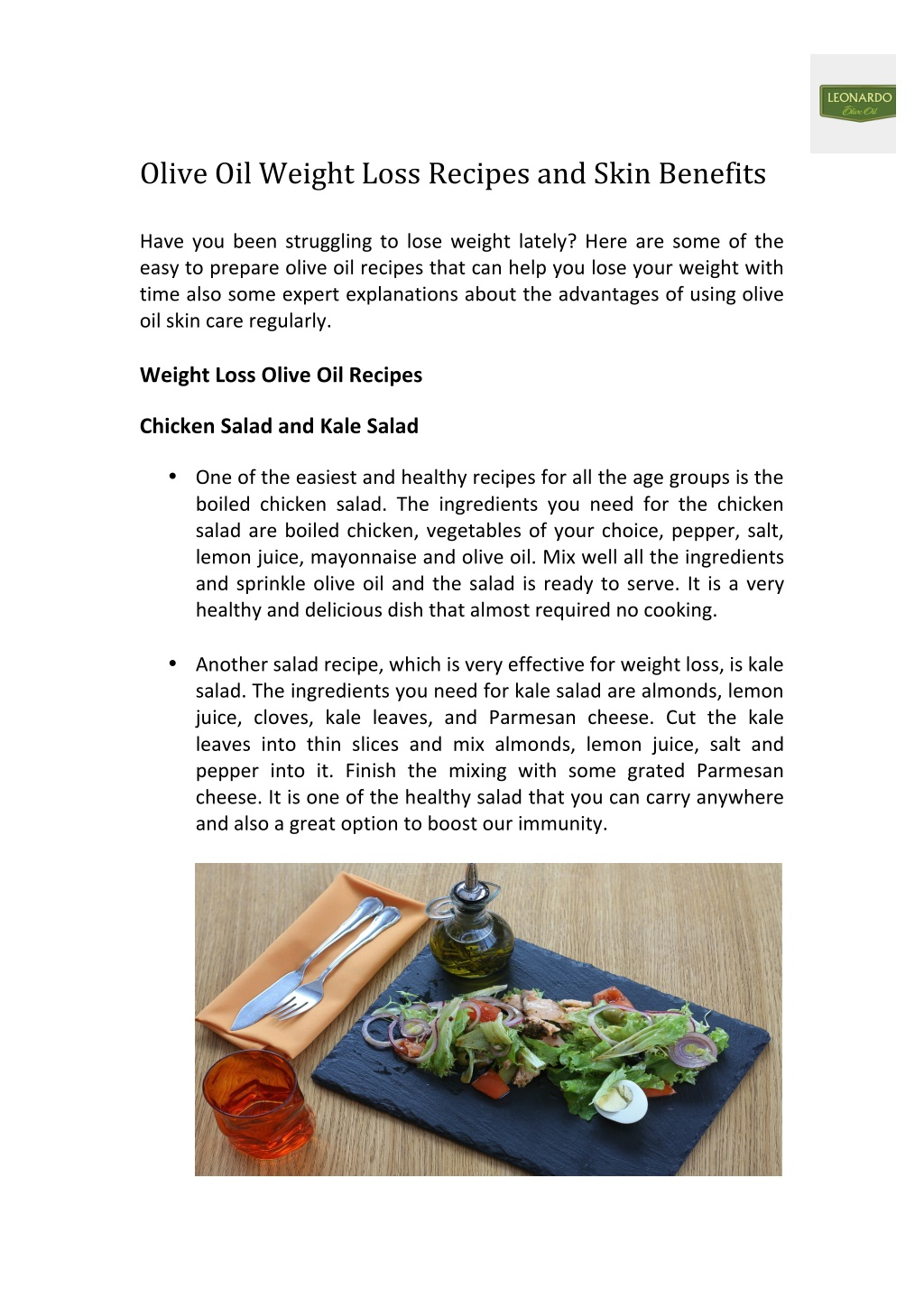 olive oil weight loss recipes and skin benefits l.